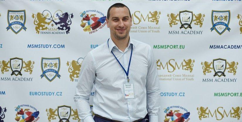 Evgen Kolesnik - CEO of MSM